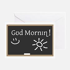 Phonetic Good Morning Greeting Card