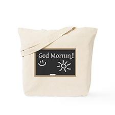 Phonetic Good Morning Tote Bag