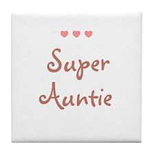 Super Auntie Tile Coaster