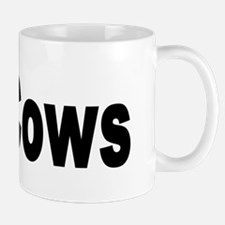 I Love Cows for Cattle Lovers Mug