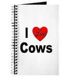 I Love Cows for Cattle Lovers Journal