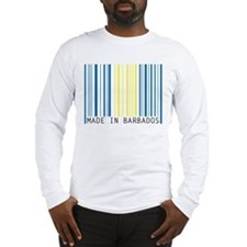 made in barbados Long Sleeve T-Shirt