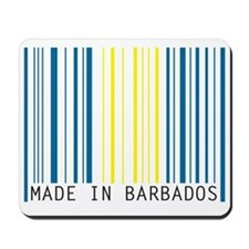made in barbados Mousepad