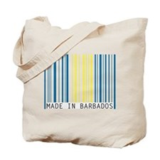made in barbados Tote Bag