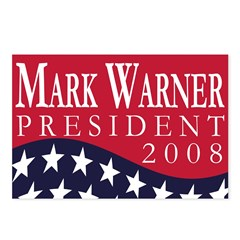 Mark Warner in 2008 (8 Postcards)
