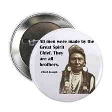 """Brotherhood Quote 2.25"""" Button"""