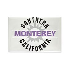 Monterey California Rectangle Magnet (10 pack)