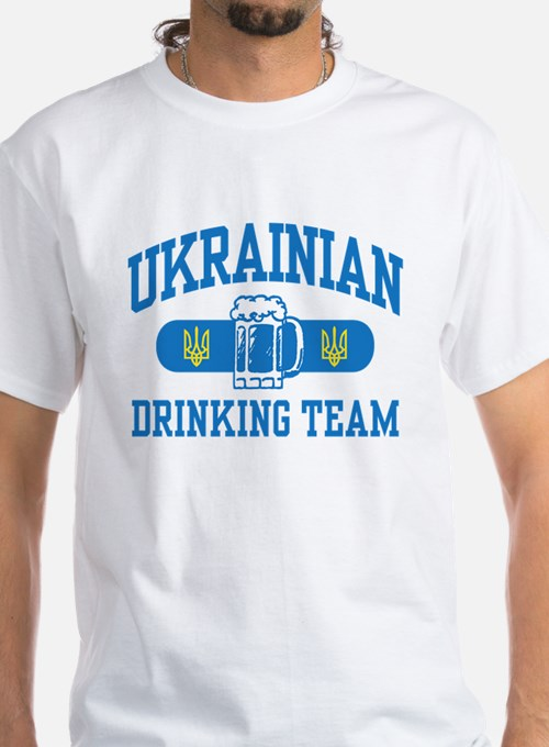 Ukrainian Drinking Team Shirt