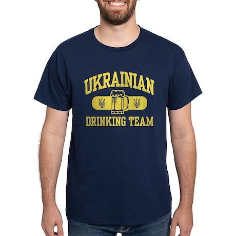 Ukrainian Drinking Team Dark T-Shirt