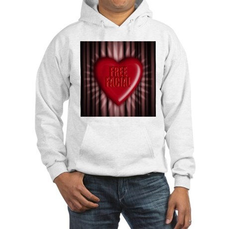 free facial Hooded Sweatshirt
