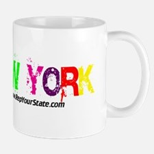 Colorful New York Mug