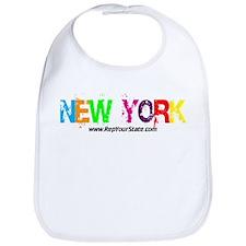 Colorful New York Bib