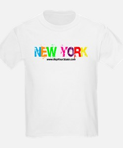 Colorful New York T-Shirt