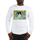Irises papillon Long Sleeve T-shirts