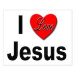 I Love Jesus Small Poster