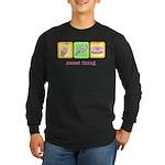 Sweet Thing Long Sleeve Dark T-Shirt