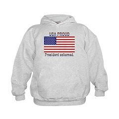 USA PROUD-President Ashamed Hoodie