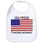 USA PROUD-President Ashamed Bib