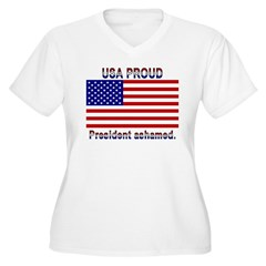 USA PROUD-President Ashamed T-Shirt