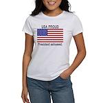 USA PROUD-President Ashamed Women's T-Shirt