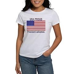 USA PROUD-President Ashamed Tee