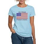 USA PROUD-President Ashamed Women's Light T-Shirt