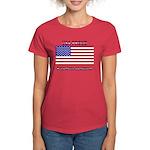 USA PROUD-President Ashamed Women's Dark T-Shirt