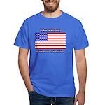 USA PROUD-President Ashamed Dark T-Shirt