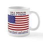 USA PROUD-President Ashamed Mug