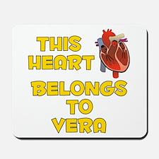 This Heart: Vera (A) Mousepad