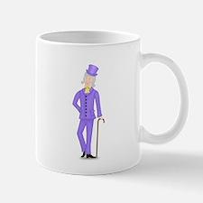 Gray Gentleman in Violet Suit Mug