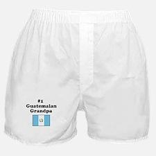 #1 Guatemalan Grandpa Boxer Shorts