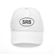 Serbia Oval Baseball Cap