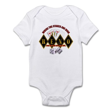RENO - Where The Stakes Are H Infant Bodysuit