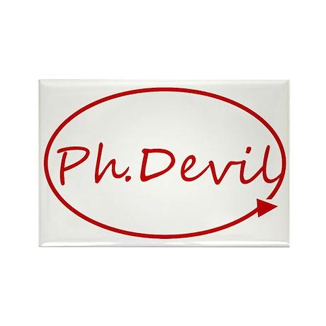 Ph.Devil Rectangle Magnet (10 pack)