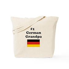 #1 German Grandfather Tote Bag
