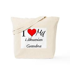 I Heart My Lithuanian Grandma Tote Bag
