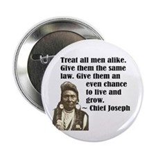 "Treat all men alike 2.25"" Button"