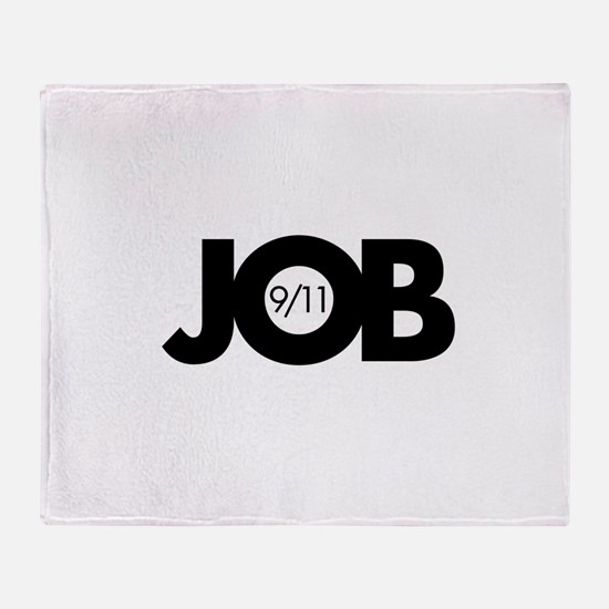 9/11 Inside Job Throw Blanket