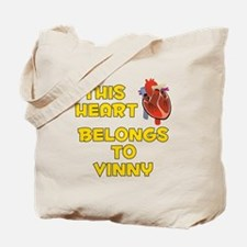 This Heart: Vinny (A) Tote Bag
