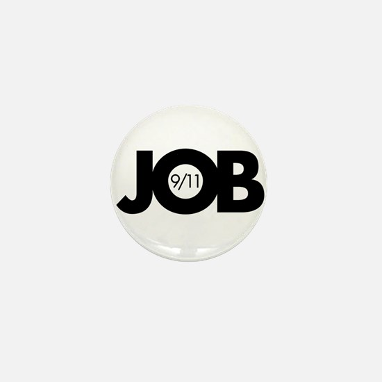 9/11 Inside Job Mini Button