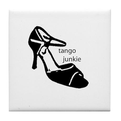 Tango Junkie Tile Coaster