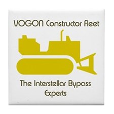 Hitchhiker - Vogon Construction - Tile Coaster