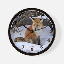 """""""Sly Fox"""" Wall Clock"""