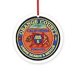 O.C. Urban Search & Rescue Ornament (Round)