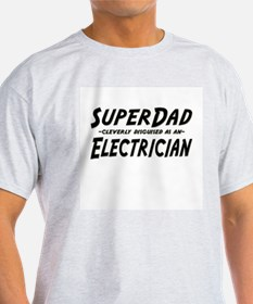"""SuperDad cleverly disguised as an Electrician"" Li"