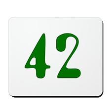 Hitchhiker Answer - 42 - Mousepad