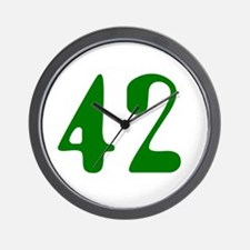 Hitchhiker Answer - 42 - Wall Clock