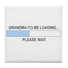GRANDMA-TO-BE Tile Coaster