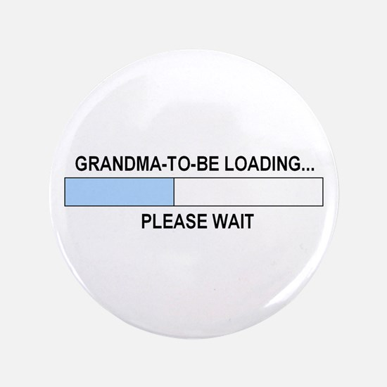 """GRANDMA-TO-BE 3.5"""" Button"""